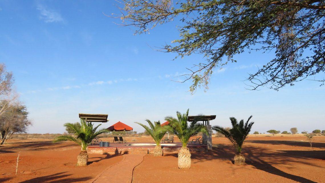 Odpoczynek na pustyni… Hotel Al Faya Lodge