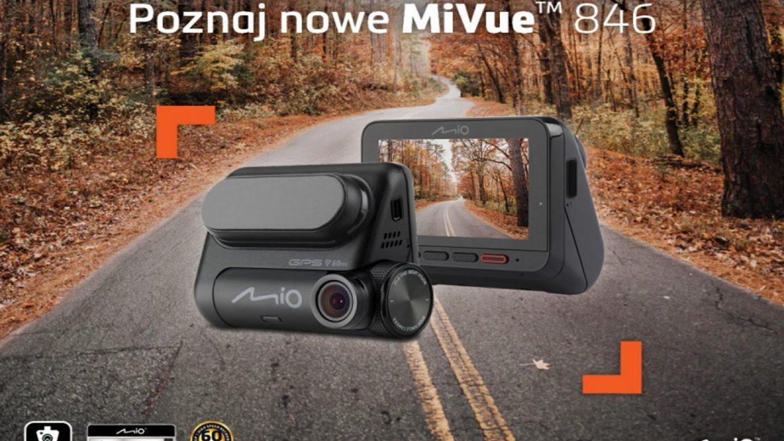 Mio MiVue 846 z dwoma trybami parkingowymi i nagrywaniem w 60FPS